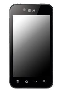 LG P970 Swift Black