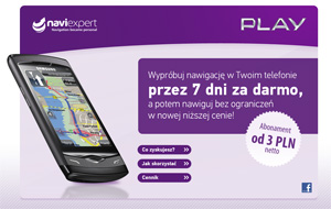 NaviExpert w wersji dla użytkowników sieci Play