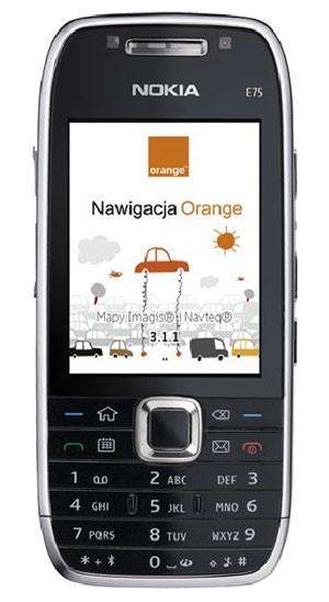 NaviExpert w telefonie Orange