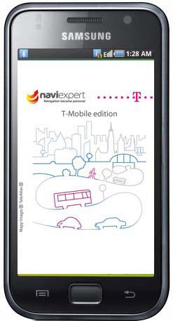 Wersja brandowana NaviExpert dla T-Mobile