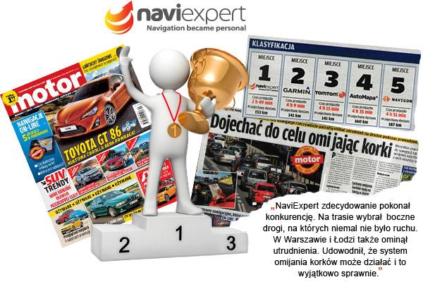NaviExpert miażdży konkurencję