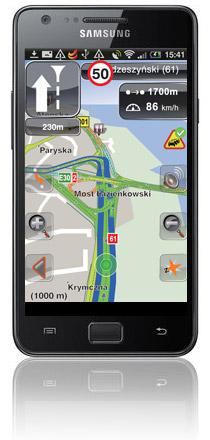 Nawigacja NaviExpert na Samsung Galaxy