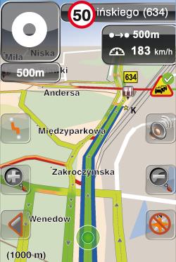 Wizualizacja danych traffic na mapie