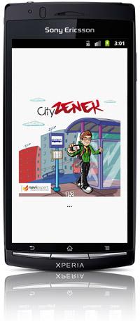 CityZenek na Sony Ericsson Xperia