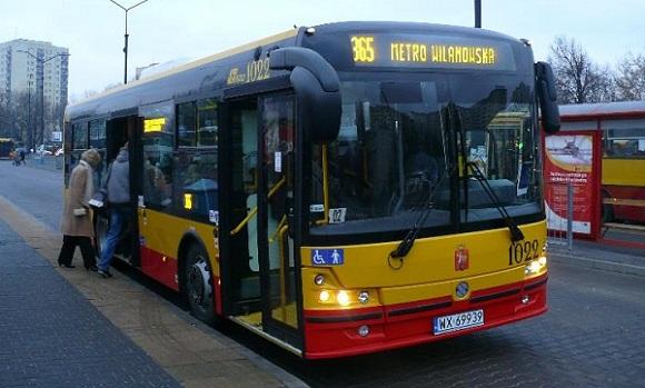 Autobus Warszawa