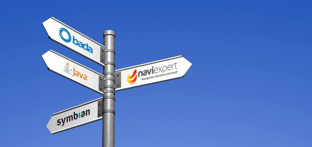 NaviExpert w systemach Symbian, Bada i Java
