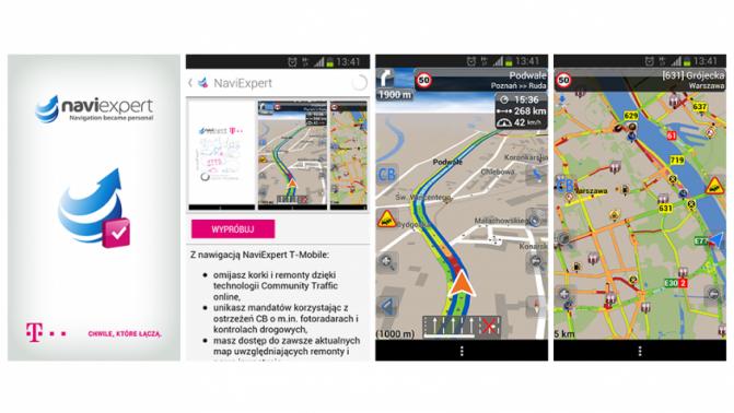 NaviExpert w serwisie MyBox od T-Mobile