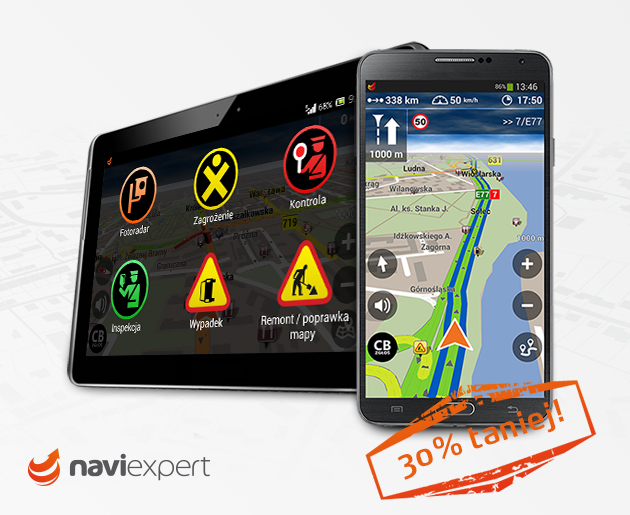 Na zimę NaviExpert 30% taniej