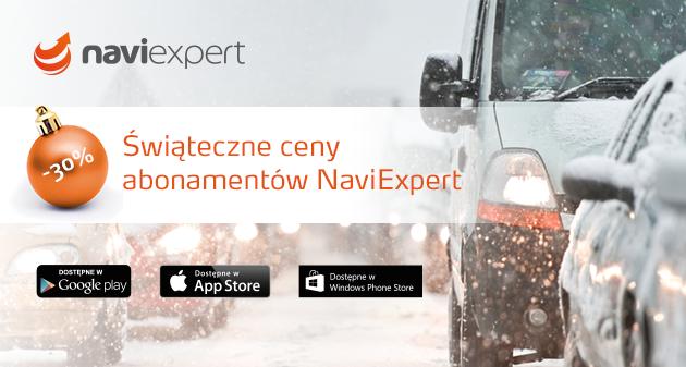 Świąteczne ceny abonamentów NaviExpert