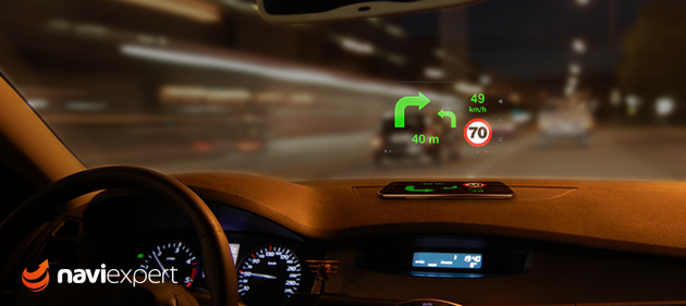 NaviExpert 9.3 z ekranem HUD już dostępny