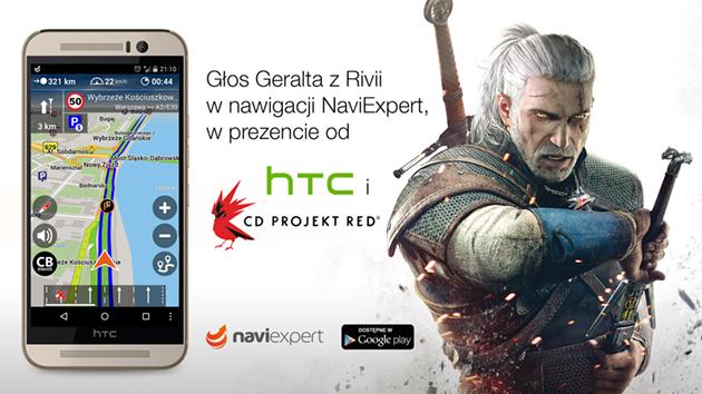 Głos Geralta z Rivii w nawigacji NaviExpert