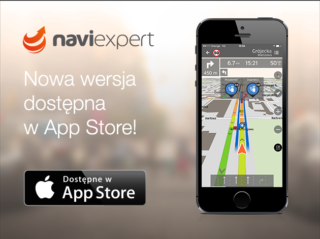 Nowa wersja NaviExpert dostępna w App Store