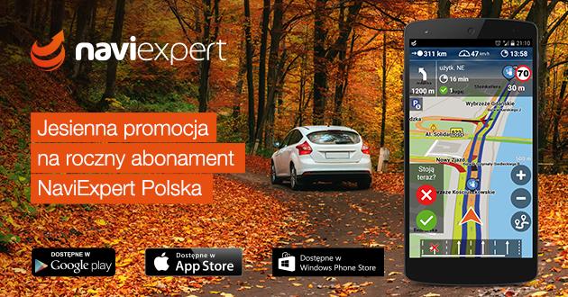Jesienna promocja NaviExpert
