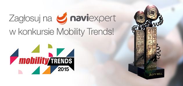 NaviExpert w konkursie Mobility Trends 2015