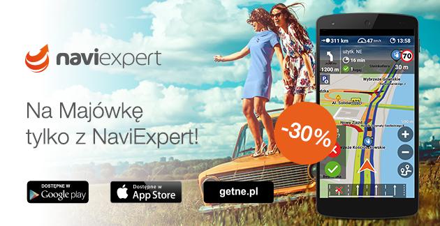 Na majówkę tylko z NaviExpert -30%