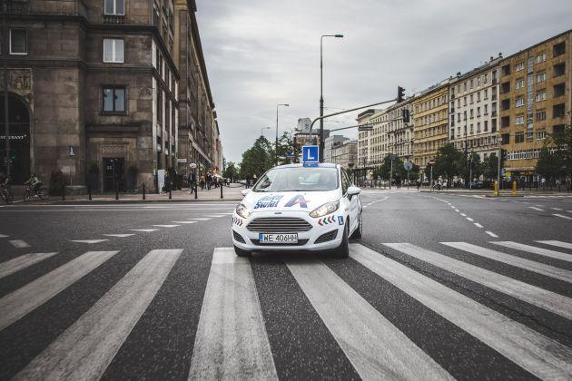 Samochód nauka jazdy