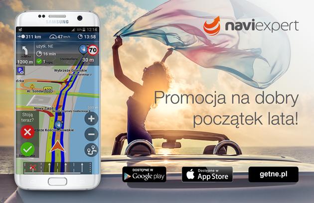 Promocja NaviExpert na dobry początek lata
