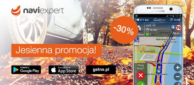 Jesienna promocja NaviExpert -30%
