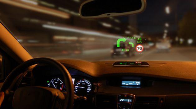 Nawigacja samochodowa nocą