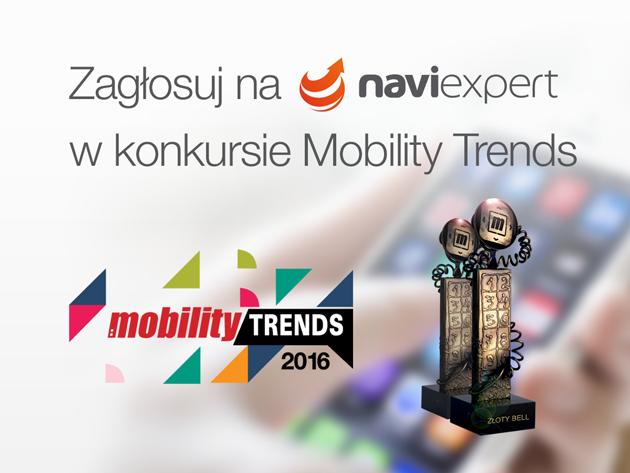 Zagłosuj na NaviExpert w konkursie Mobility Trends
