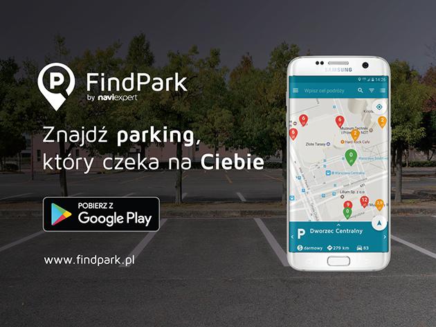 Znajdź Parking z aplikacją FindPark