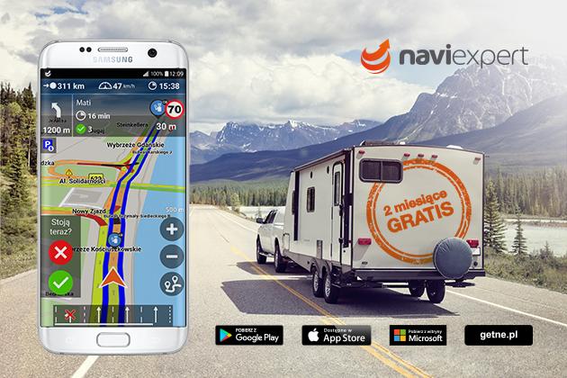 Promocja na abonament NaviExpert 2 miesiące gratis