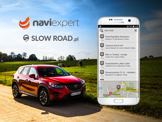 NaviExpert Slow Road