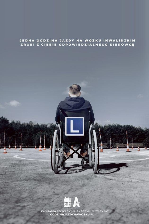 Godzina jazdy na wózku - Kampania Edukacyjna