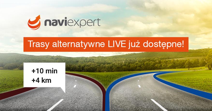 Trasy alternatywne w NaviExpert