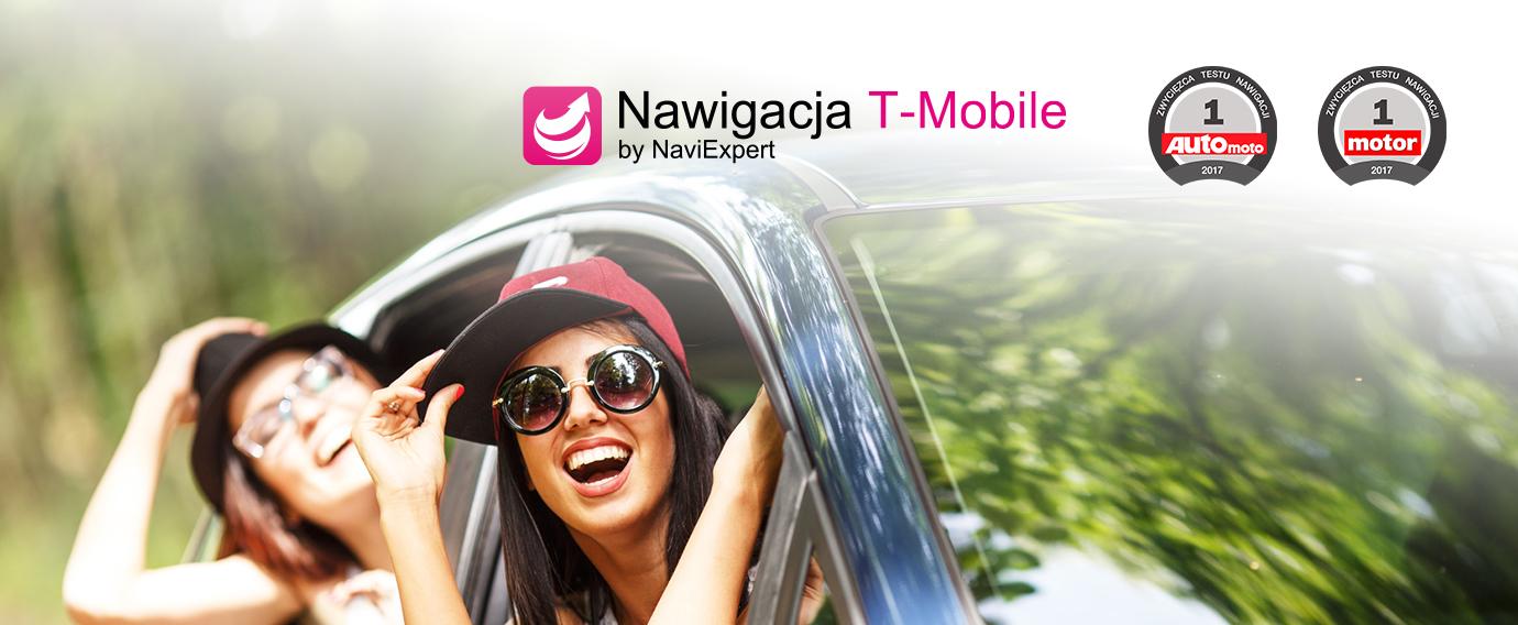 Nawigacja T-Mobile od NaviExpert najlepszą nawigacją na rynku