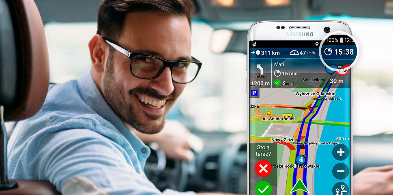 Bądź na czas! Nawigacja Plus uwzględni Twój styl jazdy
