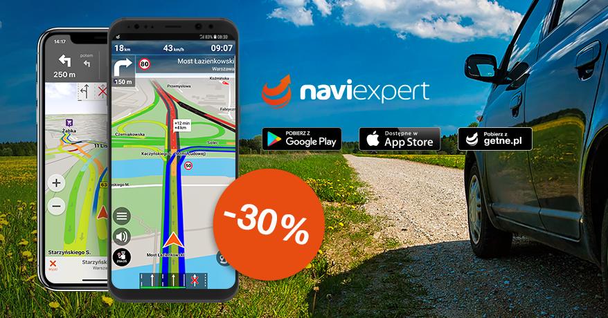 Dłuuugie weekendy z NaviExpert 30% taniej