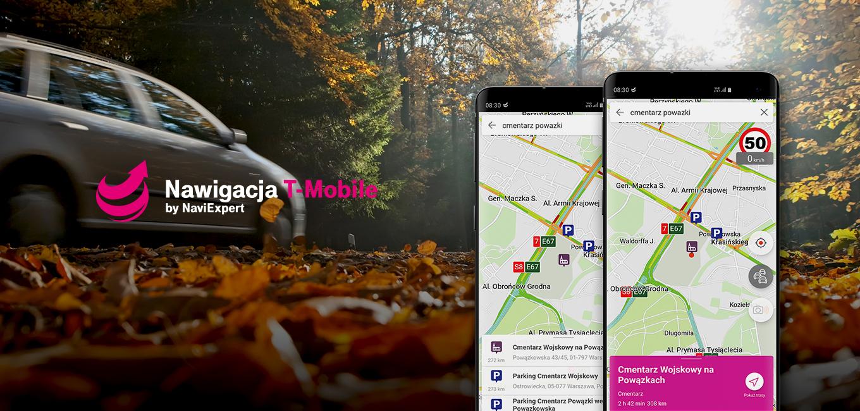 Korki na Wszystkich Świętych – omiń je z Nawigacją T-Mobile