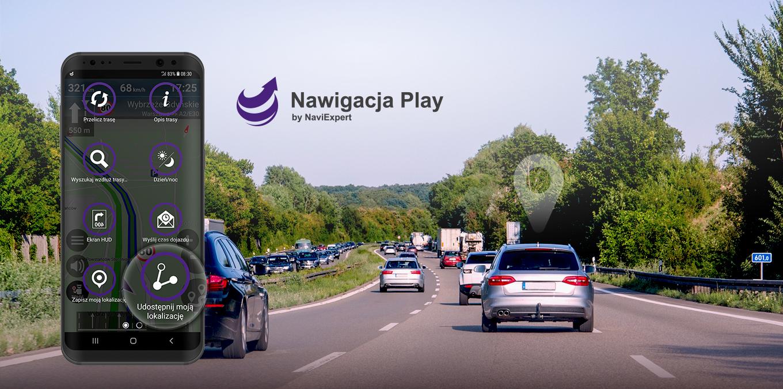 Nawigacja Play z funkcją udostępniania lokalizacji
