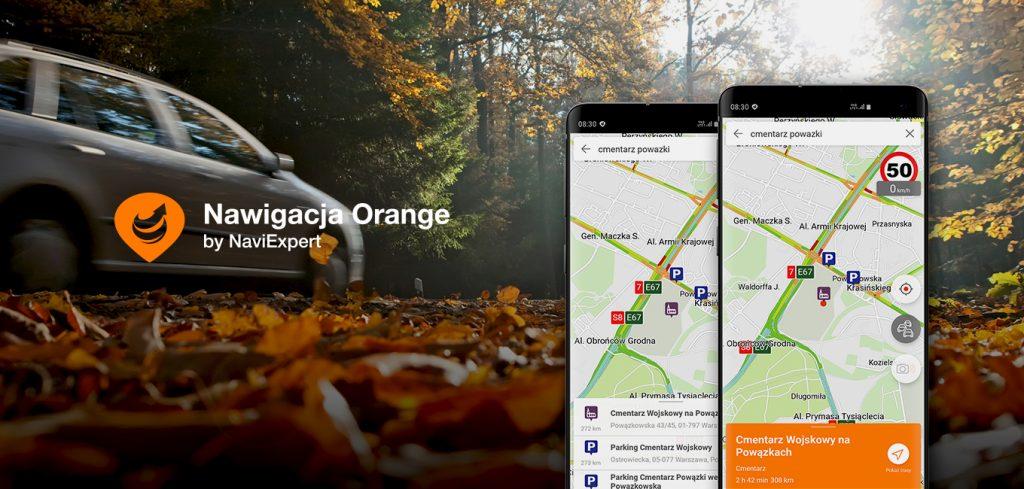 Wszystkich Świętych – dlaczego warto sięgnąć po Nawigację Orange?