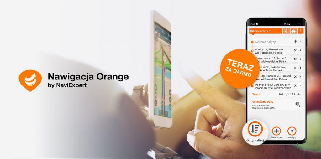 Nowość w Nawigacji Orange – darmowa usługa optymalizacji tras wielopunktowych!