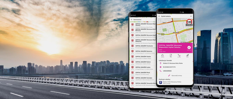 Nawigacja T-Mobile wspiera w czasie epidemii koronawirusa
