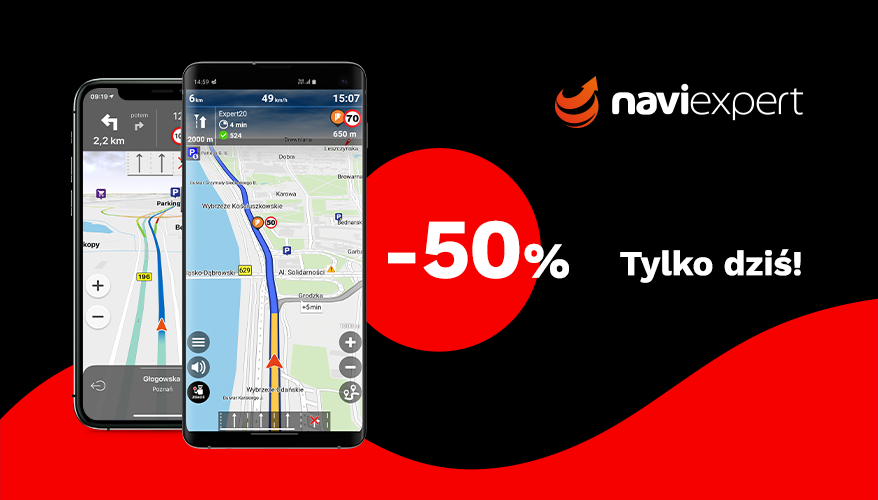 NaviExpert za pół ceny na Black Friday