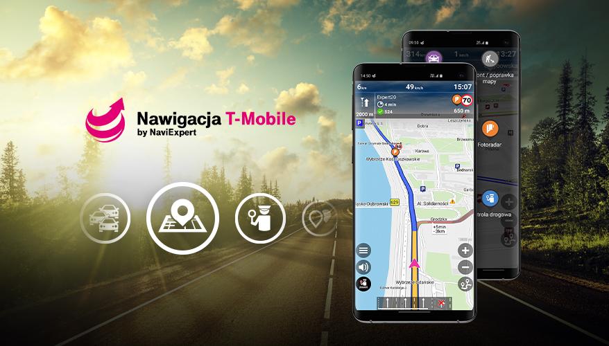 Sprawdź, czy korzystasz ze wszystkich opcji dostępnych w Nawigacji T-Mobile