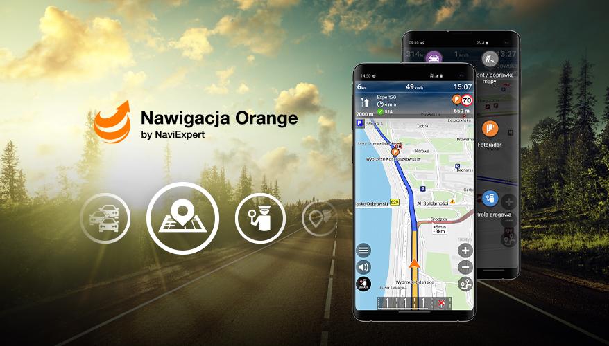 Sprawdź, czy korzystasz ze wszystkich opcji dostępnych w Nawigacji Orange